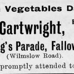 Cartwrights Fruiterer