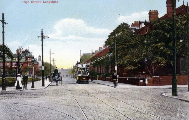 High street & Upper Brrook Street junction