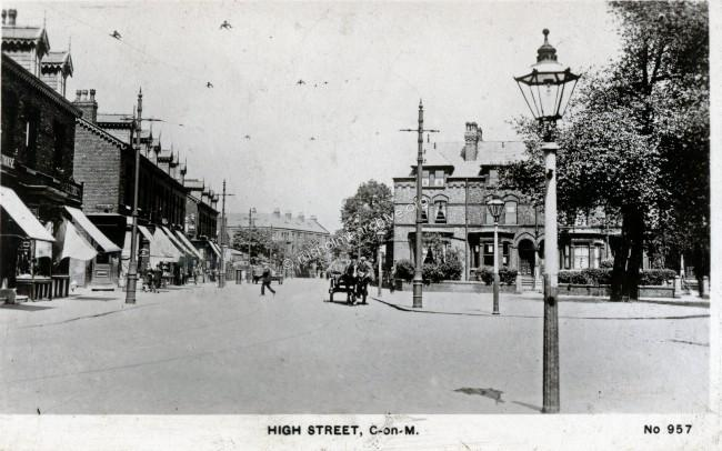 High Street, now Hathersage Road