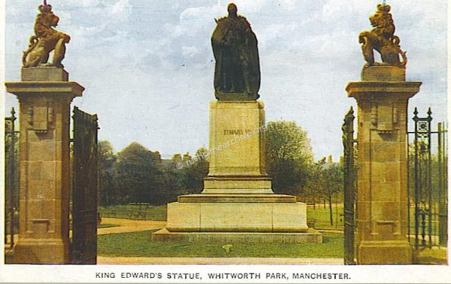 Entrance Gates & Statue of Edward VII