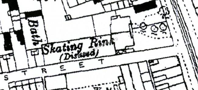 Map of Skating Rink, (disused)