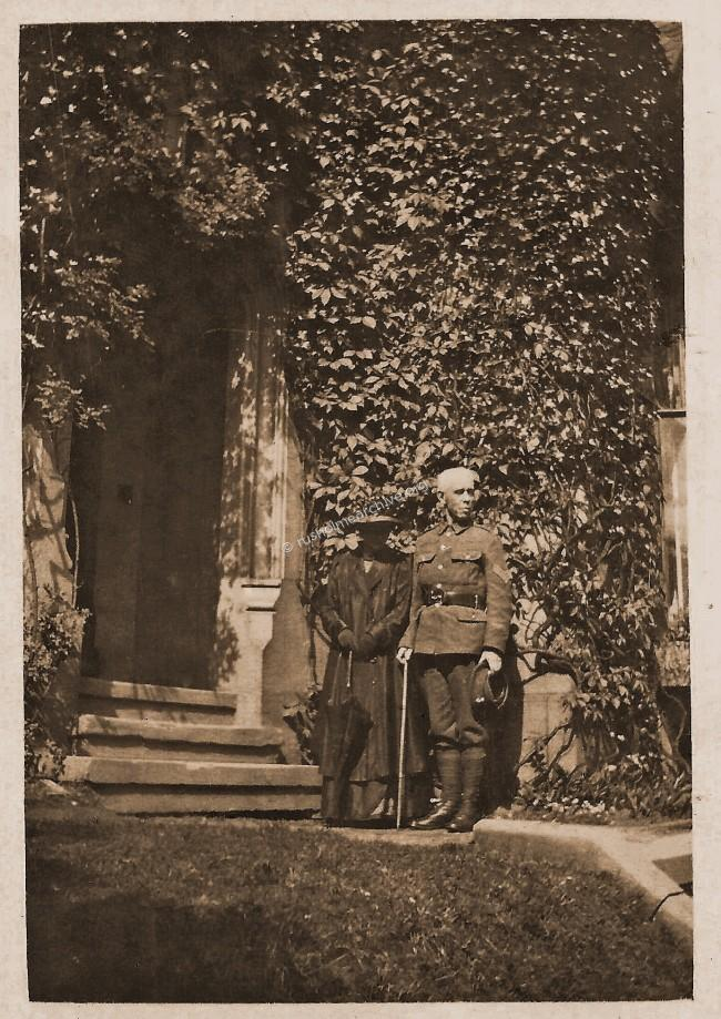 Charles & Madeline Montague WW1