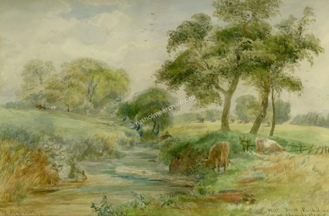 'Platt Brook, Rusholme Nr Manchester'