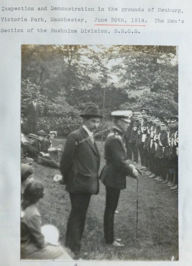 Neuberg Red Cross Inspection 1914