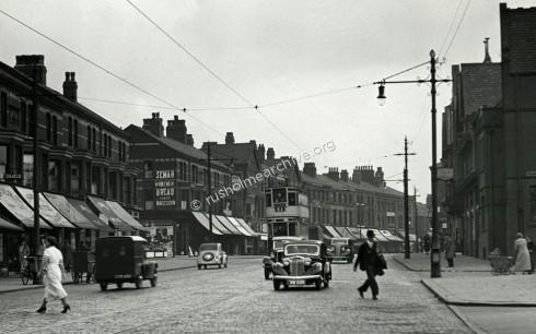 Wilmslow Rd late 1920's