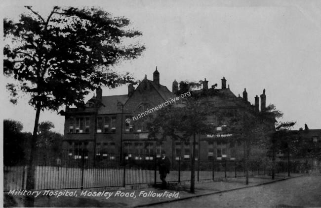 Moseley Road Military Hospital, (Fallowfield)