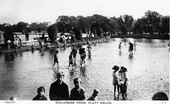 Childrens Paddling Pool 1923