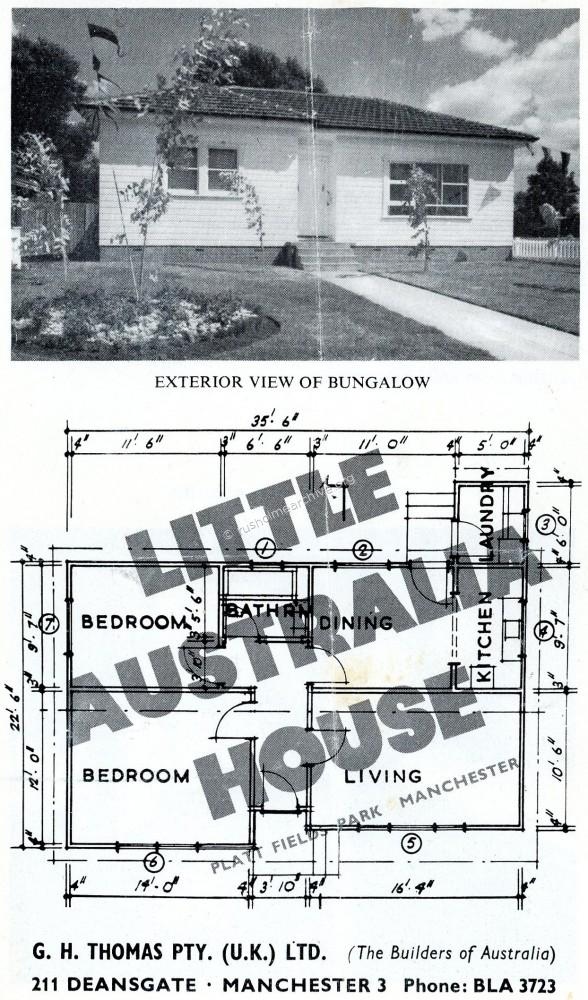 Little Australia House, front cover