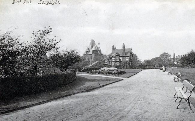 Birch Park, Longsight entrance 1907.