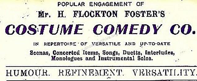 A Popular Engagement of Harry Flockton Foster's Co