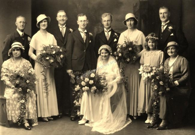 Norman & Doris wedding