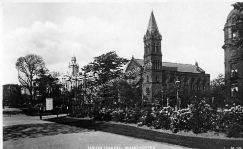 Union Chapel between Royal Infirmary & St Marys