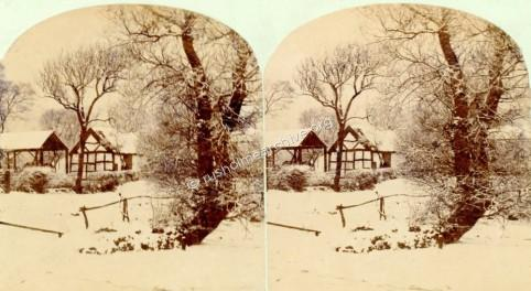 Lower Oak Farm by Petschler - stereo view
