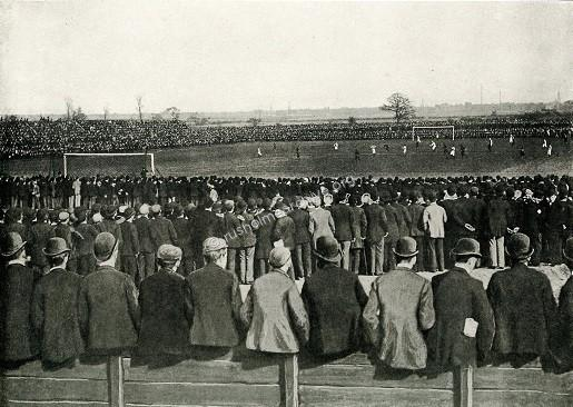Football Cup Final Crowd