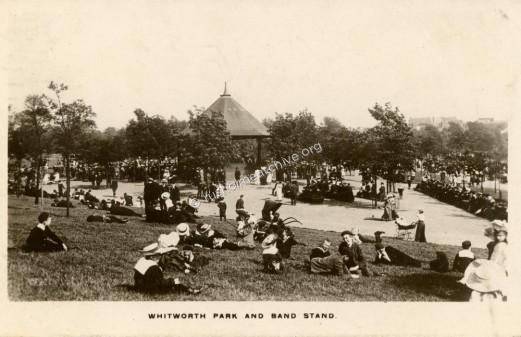 Bandstand photo dated 1906