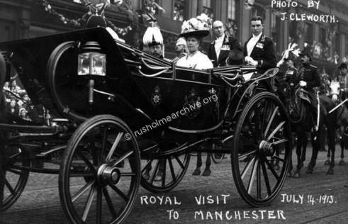 Royal Procession 1913