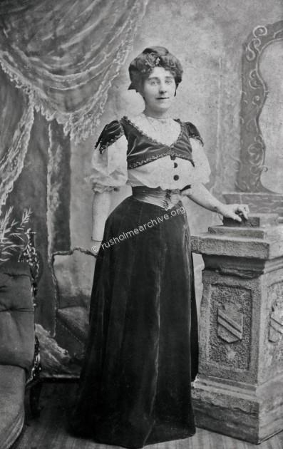Celia Sadler in Opera Costume
