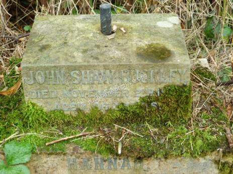 John Shaw Buckley at St James graveyard