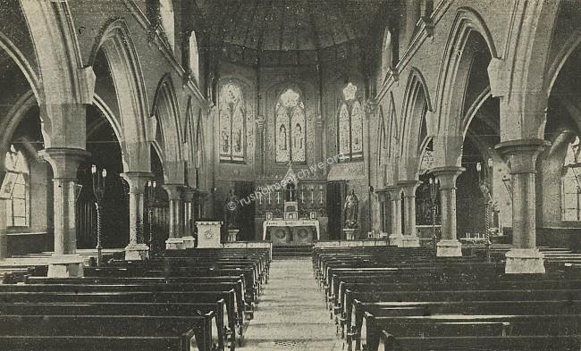 St Edwards interior