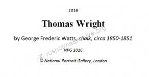 Portrait of Thomas Wright