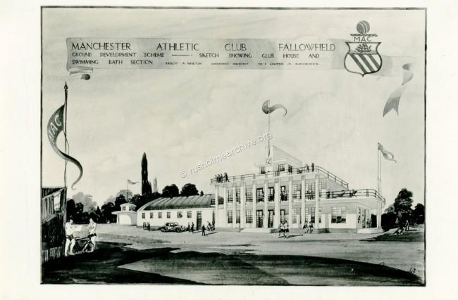 New clubhouse planned 1937