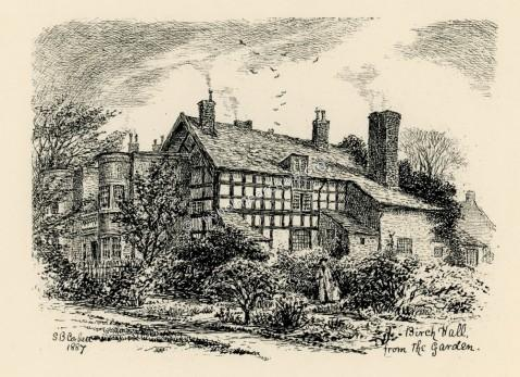 Birch Hall from the Garden 1887
