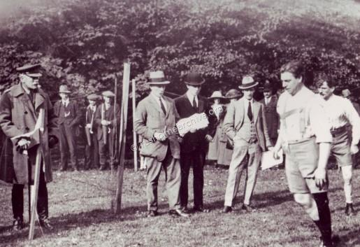 1922 Sports day at Grangethorpe
