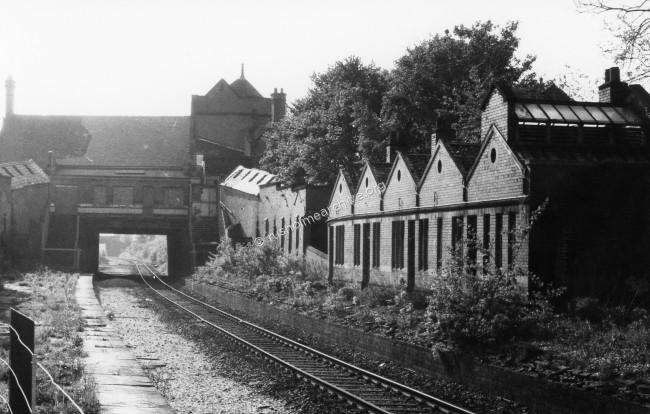 Fallowfield Station, disused 1974