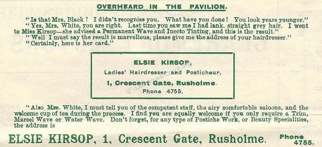Hairdressing at Crescent Gate