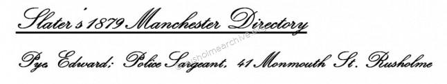 Slater's 1879 Manchester Directory