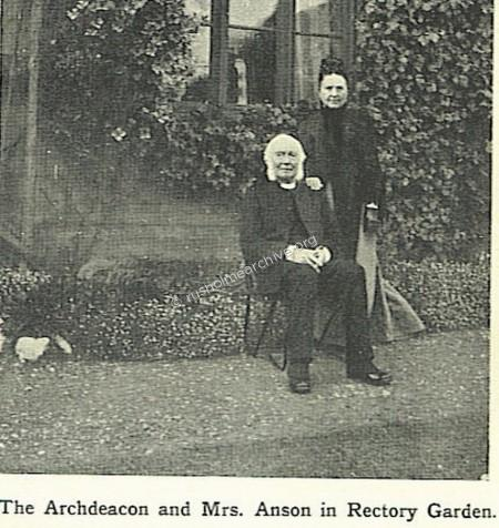 Archdeacon in Garden