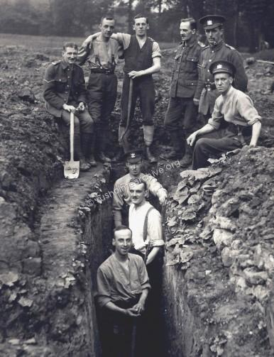 Digging Trenches - Platt Fields