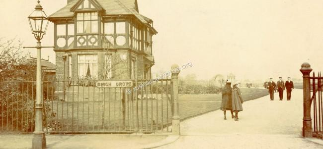 Brighton Grove Lodge circa 1910?