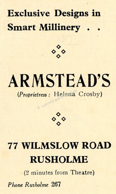 Armsteads Millinery