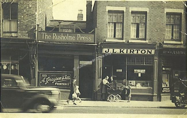 123 Wilmslow Rd in the 50s(?)