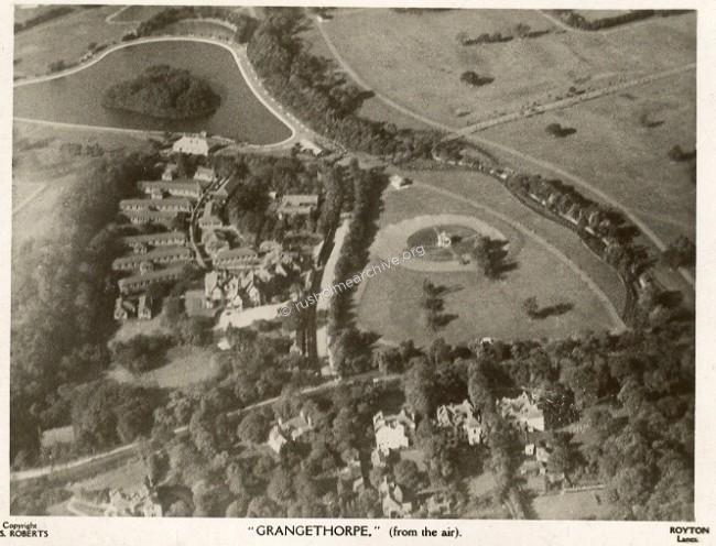Grangethorpe from the air.