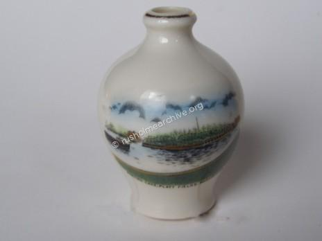 Commemorative vase