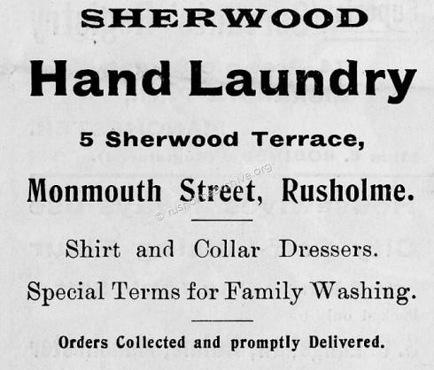 Laundry advert 1905