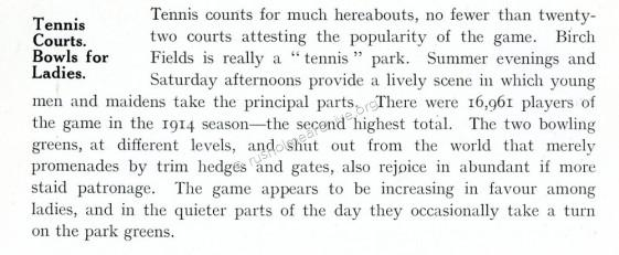 Tennis Popularity