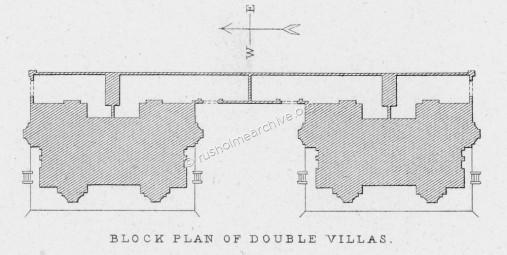 Block Plan of the two Villas