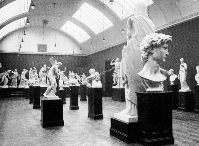 Sculpture Gallery interior