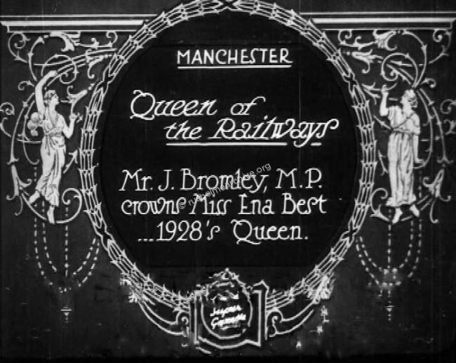 British Pathe film of Ena Best being crowned.