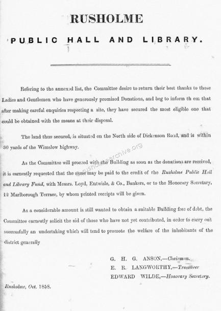 October 1858 Appeal