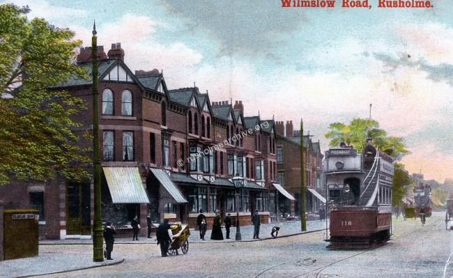 Corner of Banff terrace & Wilmslow Rd