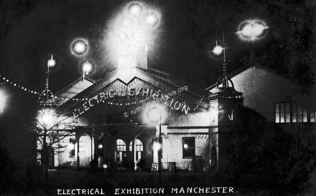 Electrical Exhibition, Platt Fields 1908