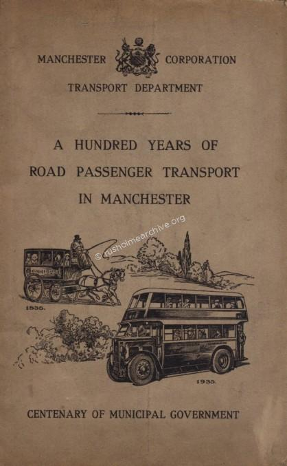 100 yrs of Manchester public transport
