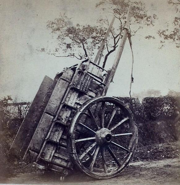 Rusholme farm cart circa 1865