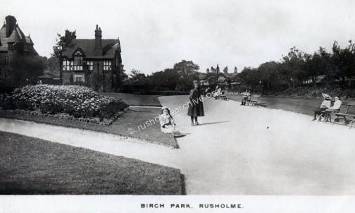Birch Park, Longsight entrance.
