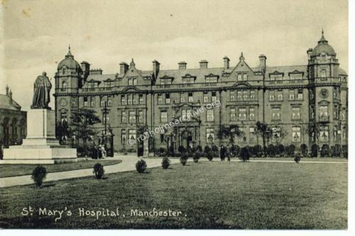 Splendid view of recently opened St Marys Hospital