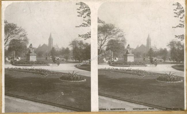 Undated; Stereo-view card